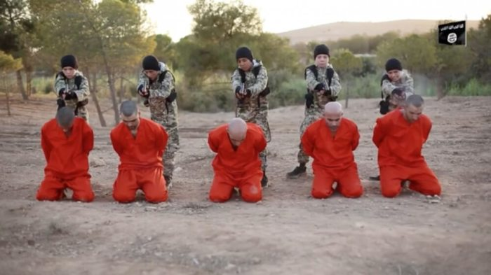 GRISLY FIRST: Islamic State beheads women for acts of