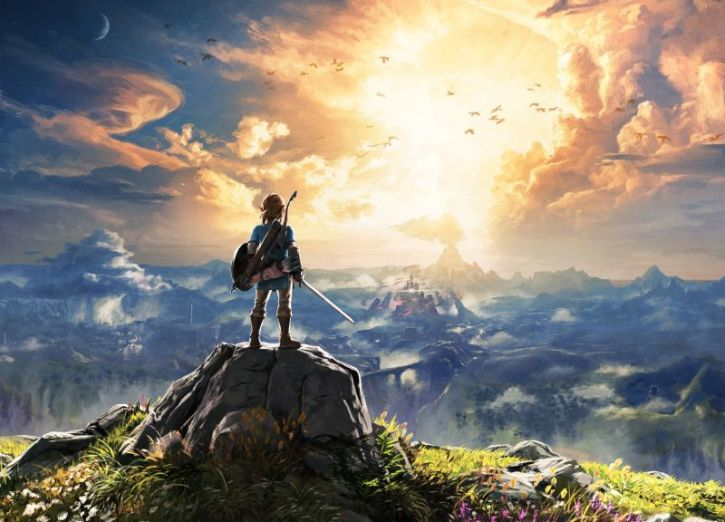 Breath Of The Wild Open World Map Is Larger Than The Elder Scrolls