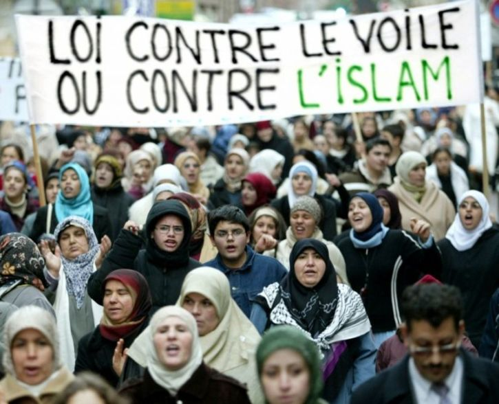 Image result for muslims le france