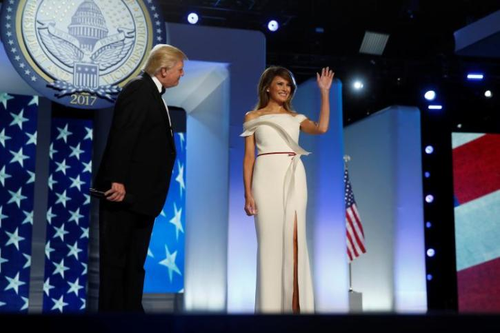 melania trump dress news first lady donates inaugural dress to