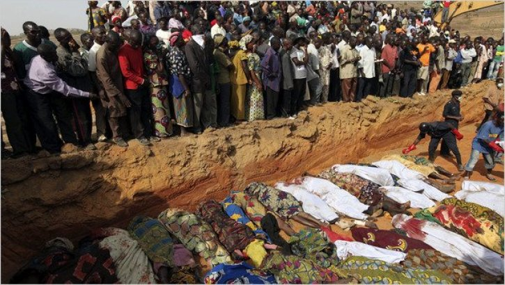 Image result for christians who died in Nigeria