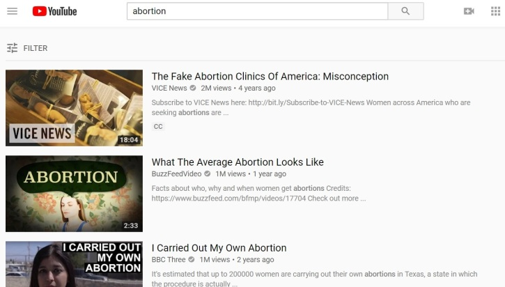 Image of: Player Search Of The Word The Christian Post Youtube Changes abortion Search Results After Accusation Of Being