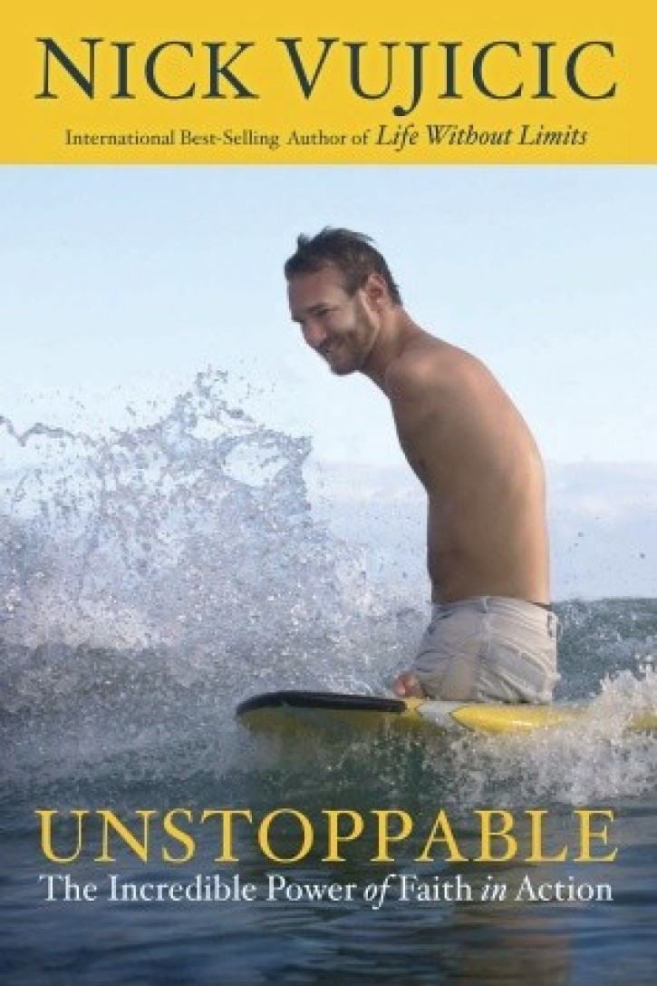 Nick Vujicic Talks Unstoppable Overcoming Suicide And Joy Of  Unstoppable Book Cover By Nick Vujicic To Be Released On October     Photo Httpwwwrandomhousecom Via The Christian Post In An Essay What Is A Thesis Statement also High School Application Essay Sample  English Essays Topics