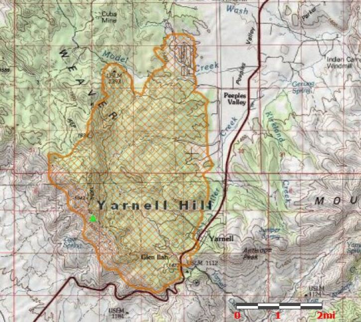 Arizona Wildfire 2013 Map Update Yarnell Fire Victims Mourned As