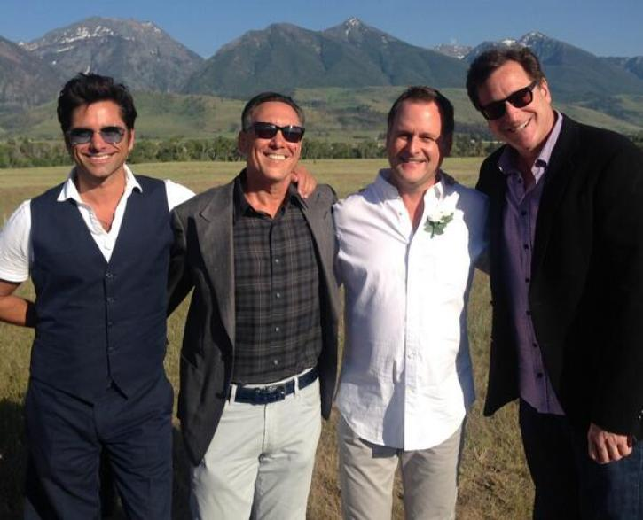 dave coulier wedding well attended by full house co stars