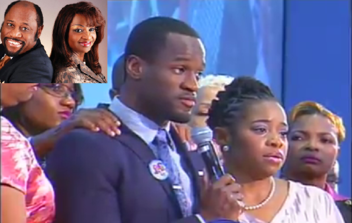 myles munroe s children weep as thousands show up for first sunday