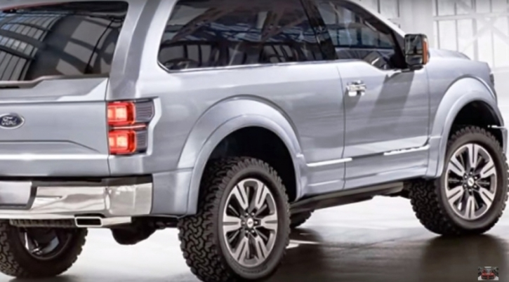 2016 Ford Bronco Summary And Review Poses A Threat To Jeep Wrangler
