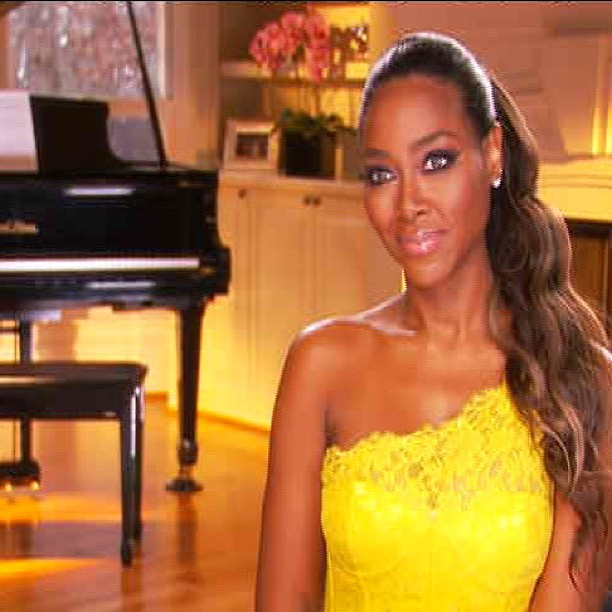 Kenya Moore And Apollo Text Messages Kenya Moore Ins...