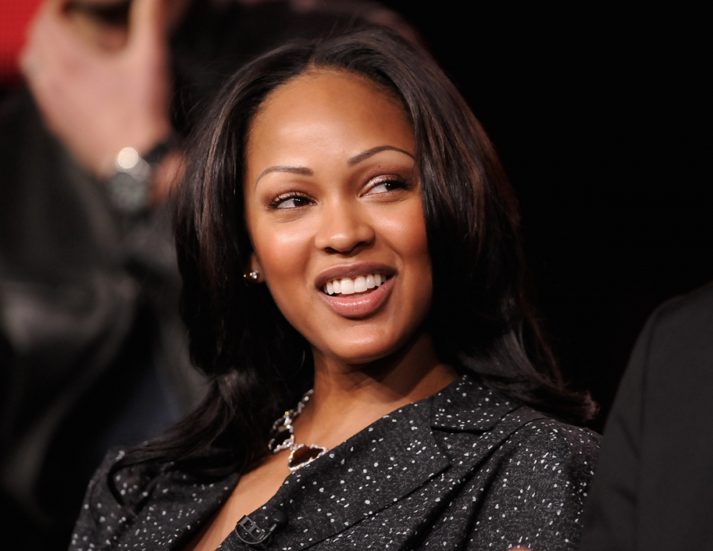 Where Meagan good sexy lips consider, that