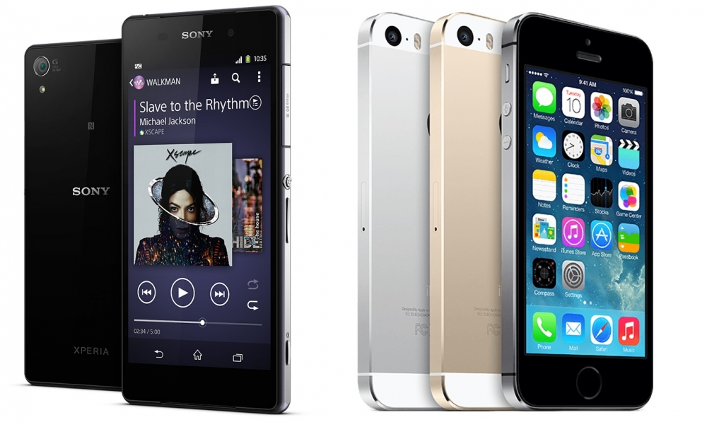 Kindle Vs Sony Reader: Sony Xperia Z2 Vs. Apple IPhone 5S Review, Comparison