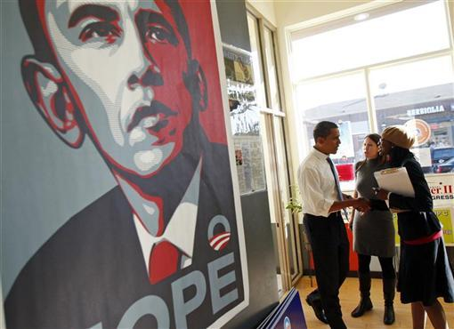 obama iconic hope poster creator says president has not lived up