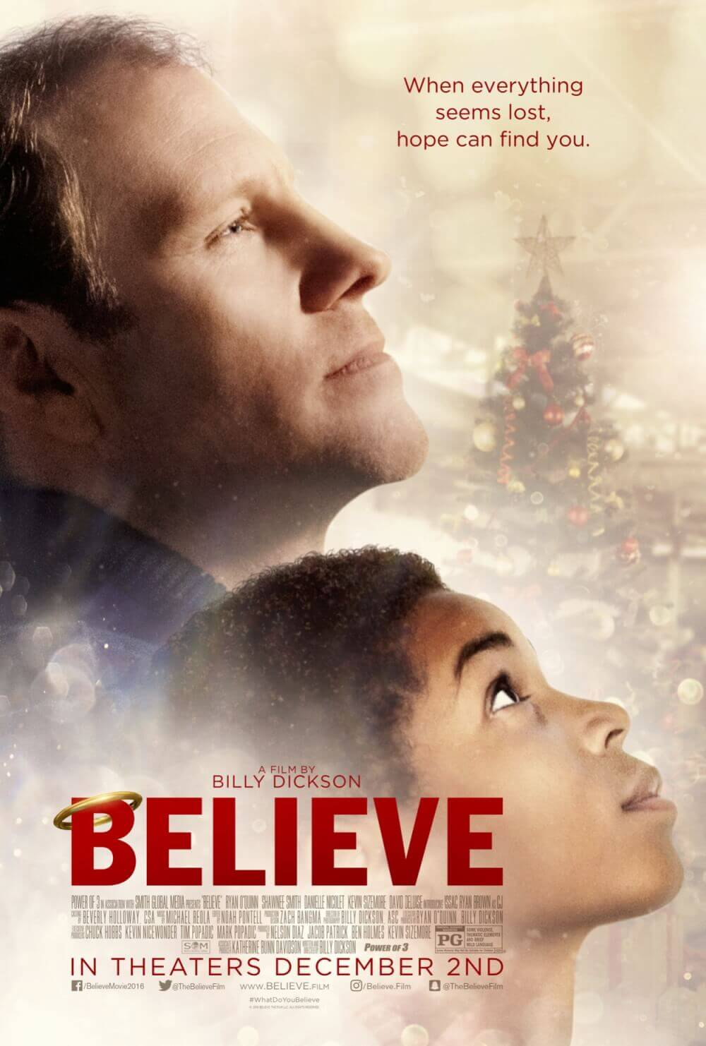 Christmas Film \'Believe\' Brings Families of All Races Together ...
